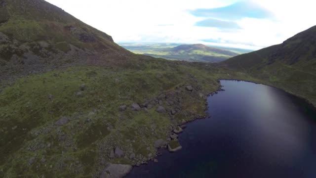 Irish lakes in the Mountains