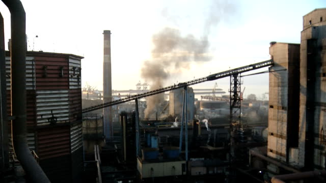 iron and steel factory