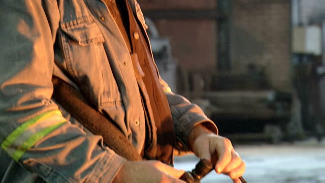 iron and steel workers - blast furnace stock videos & royalty-free footage