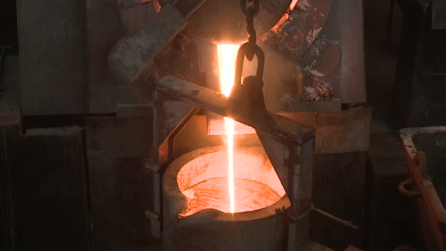 iron casting - iron metal stock videos & royalty-free footage