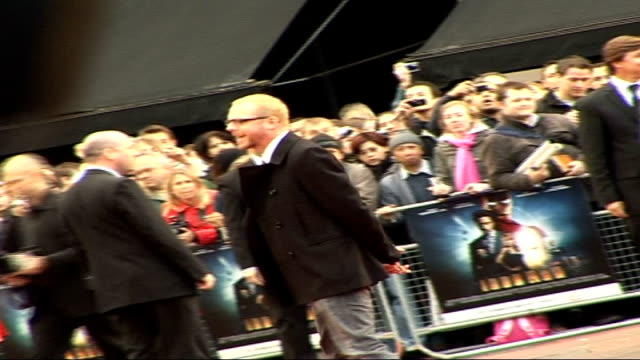 iron man film premiere arrivals and interviews simon pegg posing for press - simon pegg stock videos & royalty-free footage