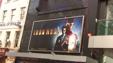 iron man london premiere at london . - première stock videos & royalty-free footage