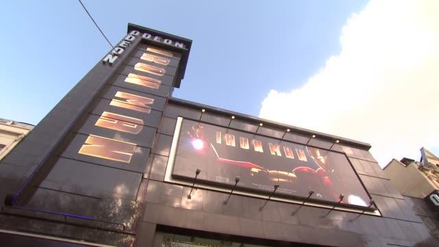 iron man london premiere at london . - 2008 stock-videos und b-roll-filmmaterial