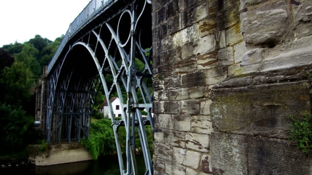 ironbridge, uk - bridge built structure stock videos & royalty-free footage