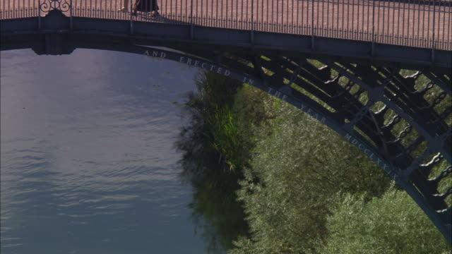 ironbridge - ironbridge shropshire stock videos & royalty-free footage