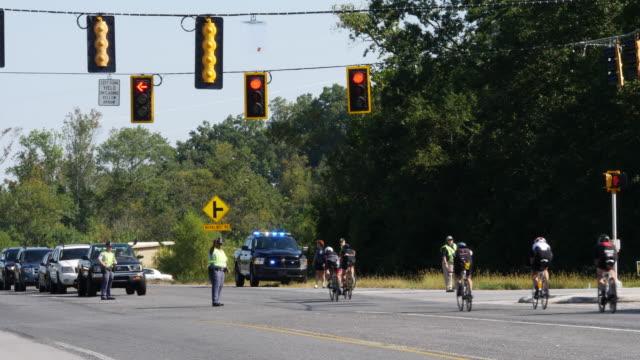 Ironman 70.3 men bike race in north Georgia, USA