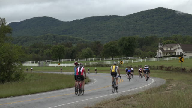 ironman event was held in chattanooga tennessee on sep 27 2015 - barriera video stock e b–roll