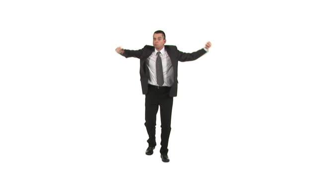 hd: irritated businessman - full length stock videos & royalty-free footage