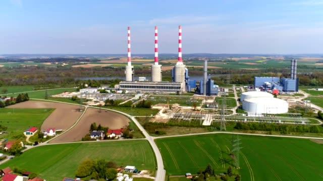 Irsching Gas-Kraftwerk In Bayern