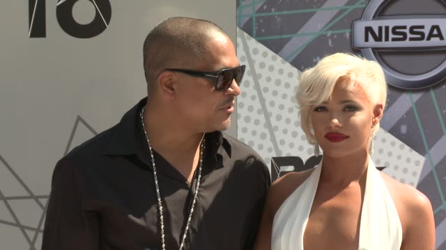 Irv Gotti Ashley Martelle at 2016 BET Awards in Los Angeles CA