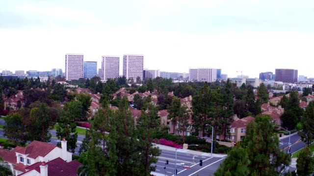irvine, california at dawn - tilt up stock videos & royalty-free footage
