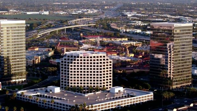 irvine cityscape - irvine california stock videos & royalty-free footage