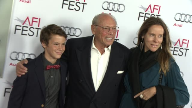"""irwin winkler at afi fest 2014 presented by audi gala screening of """"the gambler"""" at dolby theatre on november 10, 2014 in hollywood, california. - the dolby theatre stock videos & royalty-free footage"""