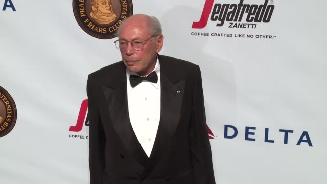 irwin winkler at friars club honors martin scorsese with entertainment icon award at cipriani wall street on september 21 2016 in new york city - cipriani wall street stock videos & royalty-free footage