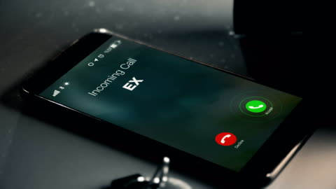 ex is calling as a missed call - boyfriend stock videos & royalty-free footage