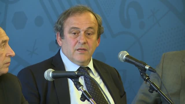 is to take legal action by the end of the year to force michel platini to return two million swiss francs he received illegally during sepp blatter's... - fifa stock videos & royalty-free footage