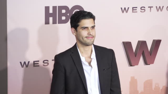"""isaac gonzalez rossi at the los angeles season 3 premiere of the hbo's """"westworld"""" at tcl chinese theatre on march 05, 2020 in hollywood, california. - tcl chinese theatre stock videos & royalty-free footage"""