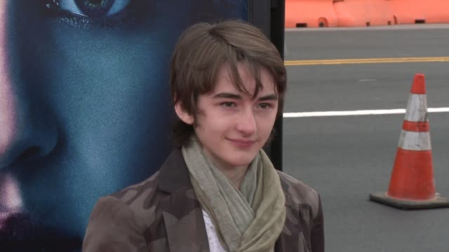 Isaac Hempstead Wright at Game of Thrones Season 3 Premiere on 3/18/13 in Los Angeles CA