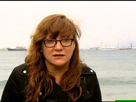 isabel coixet on working with an international crew at the cannes film festival 2009: maps of the sounds of tokyo interviews at cannes . - mediterranean culture stock videos & royalty-free footage