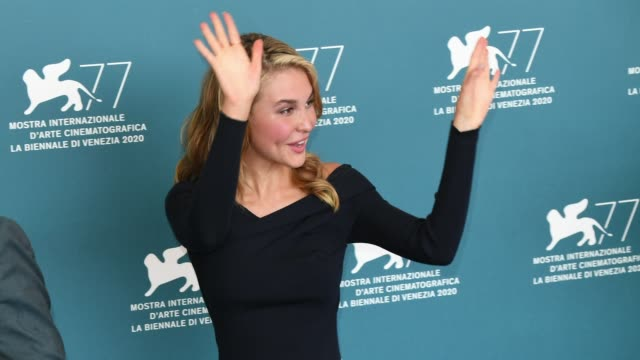 venice italy september 10 isabel may attends the photocall of the movie run hide fight at the 77th venice film festival on september 10 2020 in... - gif stock videos & royalty-free footage