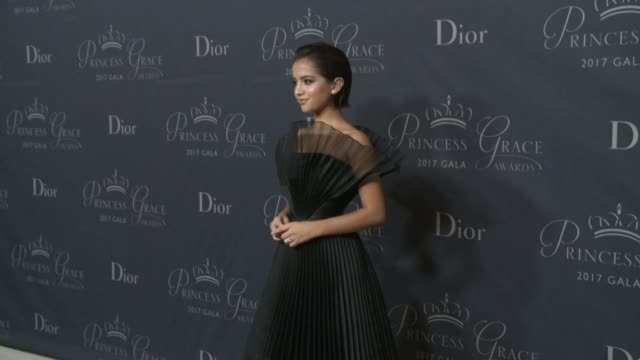 Isabela Moner at 2017 Princess Grace Awards Gala With Presenting Sponsor Christian Dior Couture at The Beverly Hilton Hotel on October 25 2017 in...