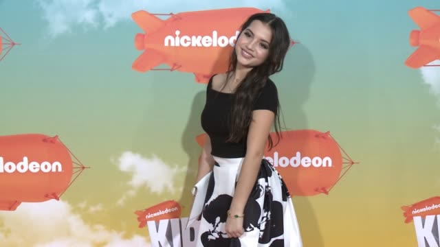 isabela moner at nickelodeon's 2016 kids' choice awards at the forum on march 12, 2016 in inglewood, california. - nickelodeon stock videos & royalty-free footage