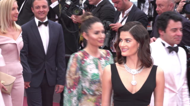 isabeli fontana shines on the red carpet of the wild pear tree during cannes film festival 2018 - 71st international cannes film festival stock videos & royalty-free footage