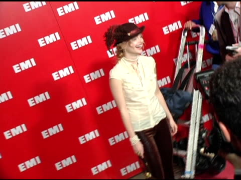 isabella amico at the emi post-grammy awards bash at the beverly hilton in beverly hills, california on february 13, 2005. - emi grammy party stock videos & royalty-free footage