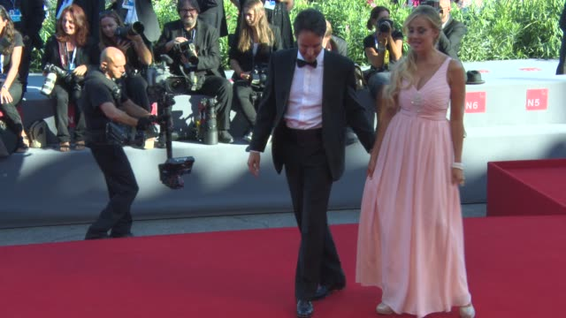 Isabelle Adriani at 'Anomalisa' Red Carpet 72nd Venice Film Festival at Palazzo del Cinema on September 08 2015 in Venice Italy