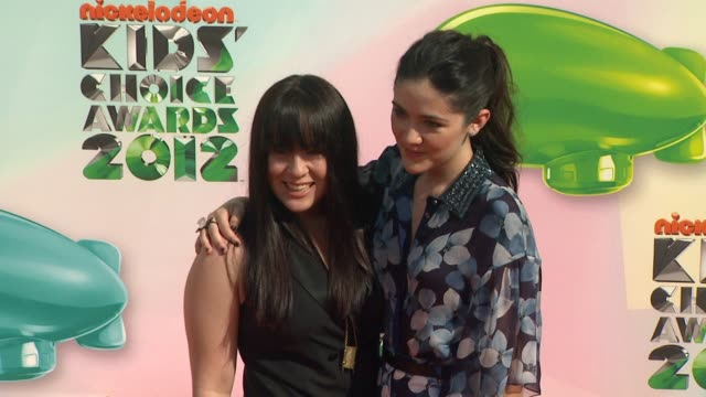 Isabelle Fuhrman at Nickelodeon's 25th Annual Kids' Choice Awards on 3/31/2012 in Los Angeles CA