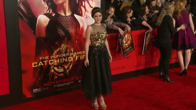 Isabelle Fuhrman at The Hunger Games Catching Fire Los Angeles Premiere in Los Angeles CA on