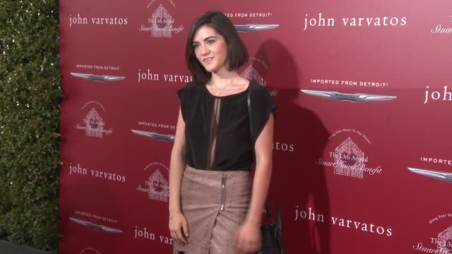 Isabelle Fuhrman at the The John Varvatos 13th Annual Stuart House Benefit Hosted By Chrysler at John Varvatos on April 17 2016 in Los Angeles...