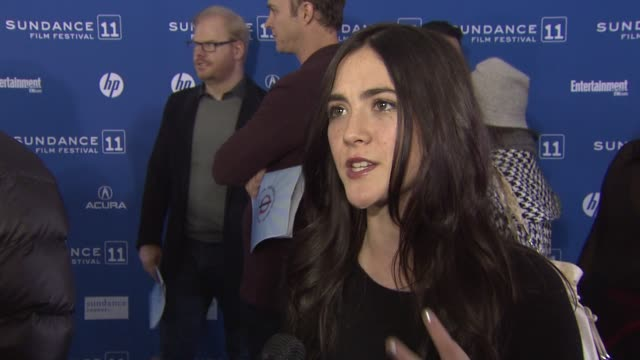 Isabelle Fuhrman on working with the other actors and what she is wearing at the 'Salvation Boulevard' Premiere 2011 Sundance Film Festival at Park...