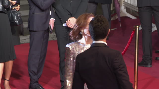 Isabelle Huppert Jeremie Renier Ariyon Bakare Isabelle Huppert Ira Sachs Pascal Greggory at 'Frankie' Red Carpet Arrivals The 72nd Cannes Film...
