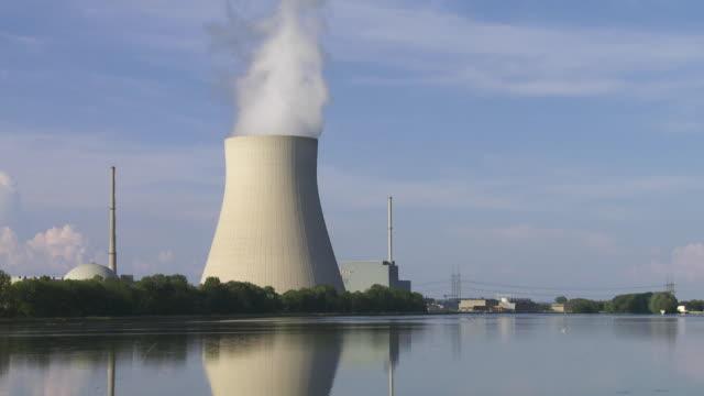 TS Isar Nuclear Power Plant Near Landshut in Bavaria