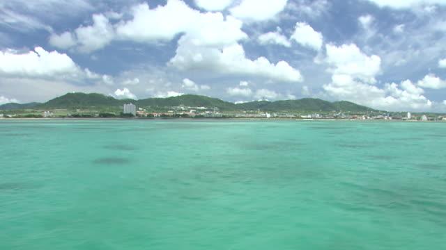 POV, Ishigaki Island Over Sea, Okinawa, Japan