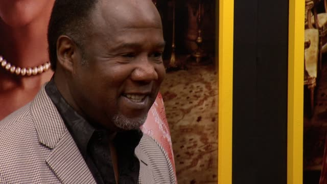 """isiah whitlock at """"belle"""" new york premiere arrivals at the paris theater on april 28 2014 in new york city - paris theater manhattan stock videos and b-roll footage"""