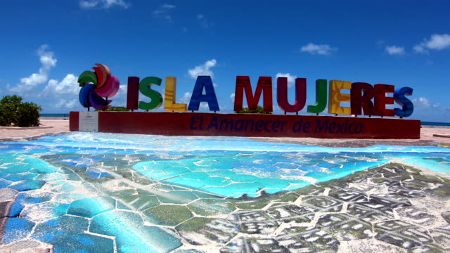 isla mujeres island beach situated in quintana roo mexico - cancun stock videos & royalty-free footage