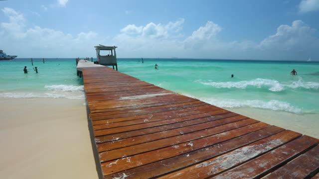 isla mujeres - coastline stock videos & royalty-free footage