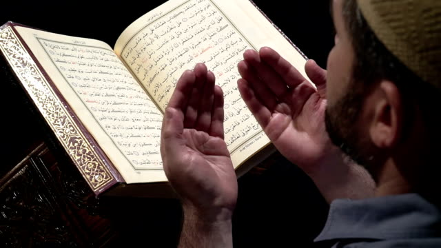 islamic prayer - koran stock videos and b-roll footage