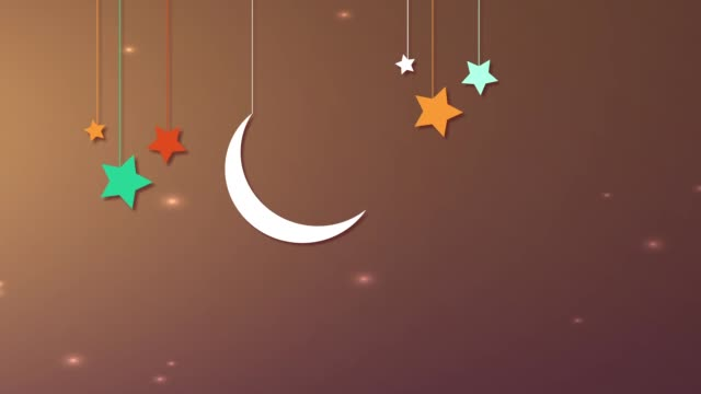 islamic ramadan - eid mubarak background - eid mubarak stock videos & royalty-free footage