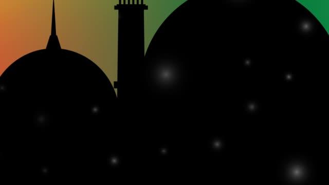 Islamic Ramadan - Eid Mubarak Background