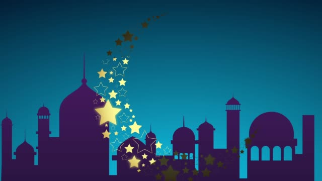 islamic ramadan - eid murabak background - lantern stock videos & royalty-free footage