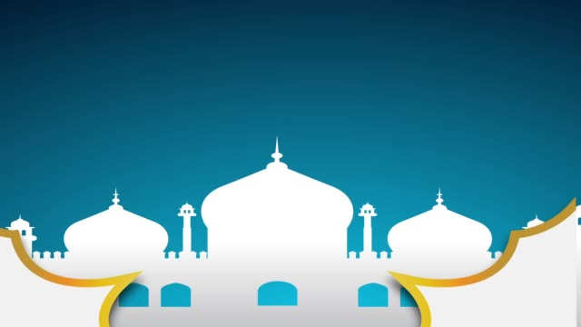 islamic ramadan - eid murabak background - eid mubarak stock videos & royalty-free footage