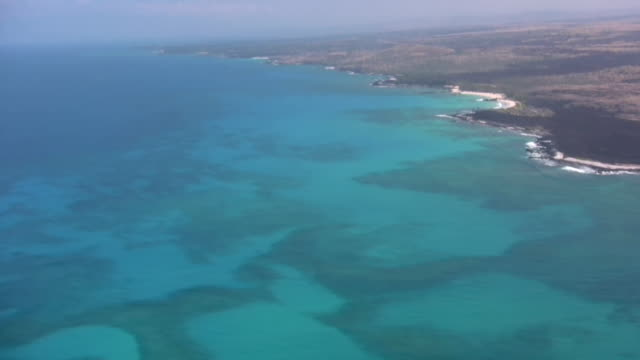 Island Coral Reef hawaii tropical flying lava pacific ocean airplane