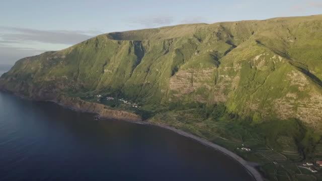 フローレス島、アゾレス諸島、ポルトガル - アゾレス諸島点の映像素材/bロール