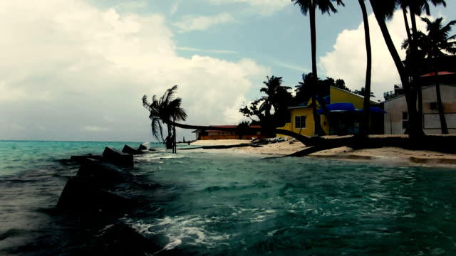 island  - karibisches meer stock-videos und b-roll-filmmaterial