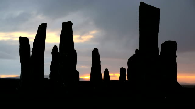 Isle Lewis Outer Hebrides Callanish Standing Stones Scotland UK