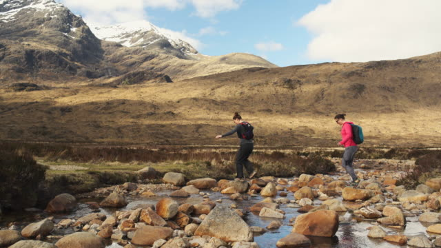 isle of skye sgurr - scottish highlands stock videos & royalty-free footage