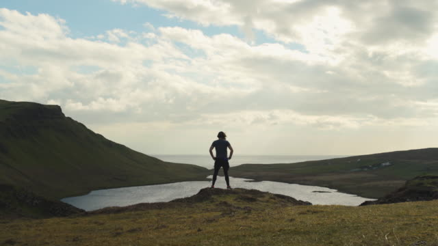 isle of skye sgurr - distant stock videos & royalty-free footage